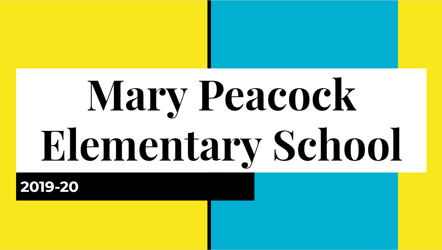 Mary Peacock Report to the Community